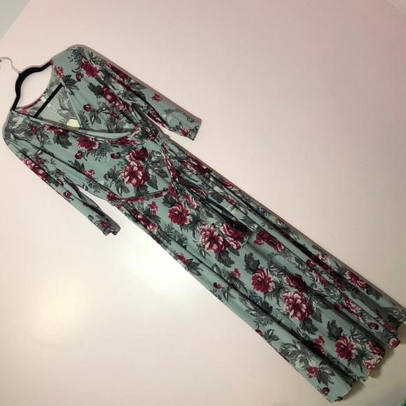 Pinkblush Dresses & Skirts - Floral PinkBlush Maxi Dress